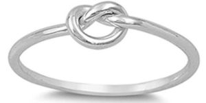 Sterling Silver Knot Ring Only $7.89!