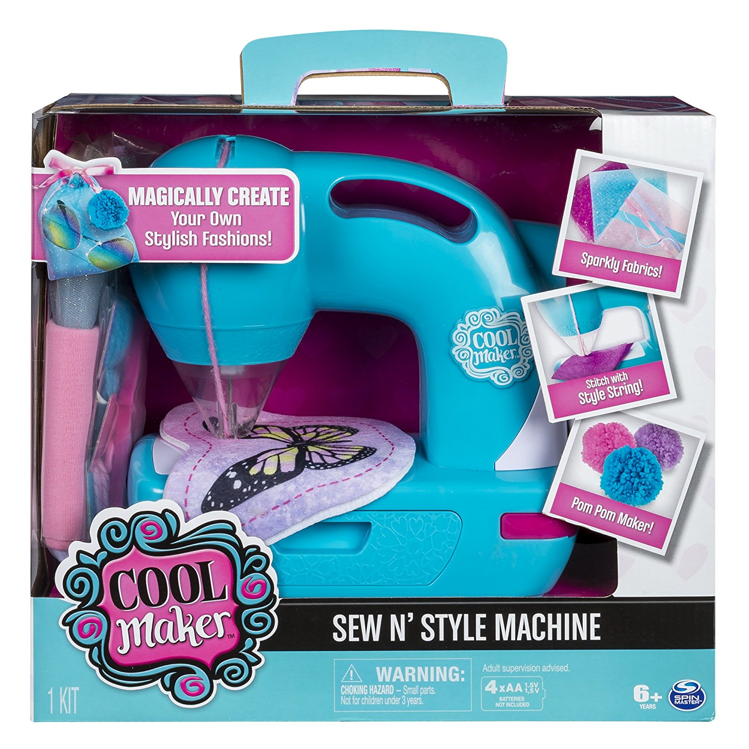 Cool Maker Sew N' Style Sewing Machine Only $14.99! (was