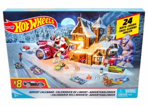 Hot Wheels Advent Calendar Vehicle Only $19.99!