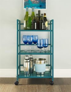 3 Shelf Metal Rolling Utility Cart – $28.79 Shipped! (was $54!)