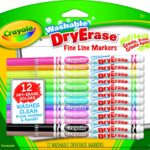 Crayola Washable Dry-Erase Markers, 12 Count Only $6.99!