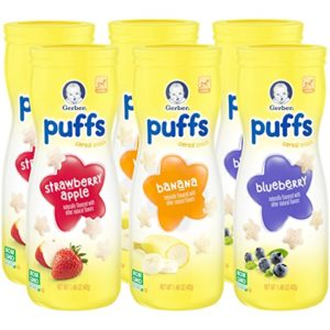 Gerber Graduates Puffs Cereal Snack 6-count Only $6.29 Shipped!
