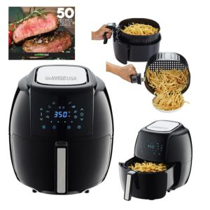 GoWISE USA 5.8-QT Programmable 8-in-1 Air Fryer XL – $80 Shipped! Best Price!