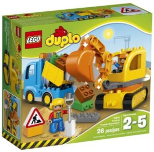 LEGO DUPLO Town Truck & Tracked Excavator Set Only $16.49!