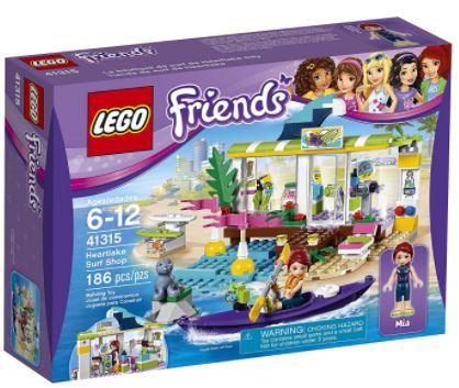 LEGO Friends Heartlake Surf Shop Building Kit