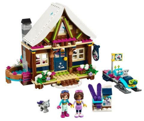 LEGO Friends Snow Resort Chalet Building Kit