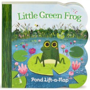 Little Green Frog: Lift-a-Flap Board Book Only $2.92! (reg. $7.99)