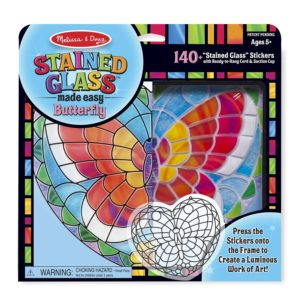 Melissa & Doug Stained Glass Made Easy Activity Kit Only $10.39!