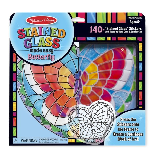 Melissa & Doug Stained Glass Made Easy Activity Kit