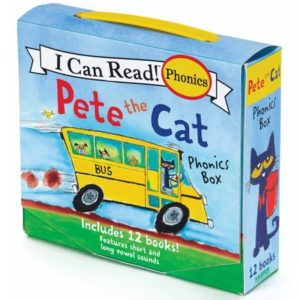 Pete the Cat Phonics Box Set Only $6! (reg. $12.99)