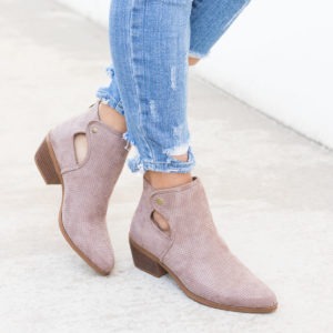 Pinhole Fall Booties Only $24.99 + FREE Shipping!