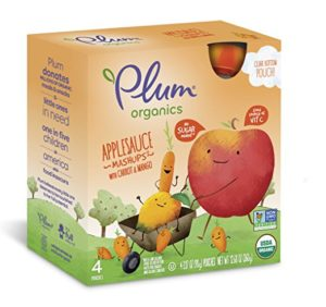 Plum Organics Pouches Only $0.40 each Shipped!