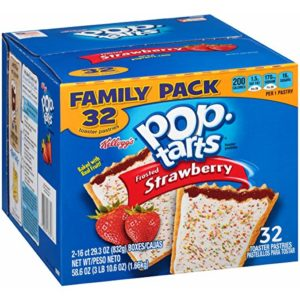 Pop-Tarts, Frosted Strawberry, 32 Count as low as $3.66 Shipped!