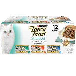 Purina Fancy Feast Classic Seafood Feast Collection Cat Food 24 Cans as low as $9.58 Shipped!