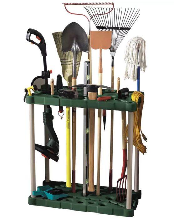 Superior Rubbermaid Long Handle Tool Storage Rack U2013 $46.79!