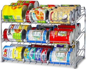 Stackable Can Rack Organizer – $18.87!