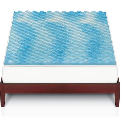 The Big One Gel Memory Foam Mattress Topper 21 24 All Sizes Become A Coupon Queen