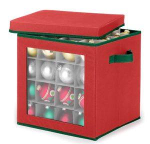 Whitmor Ornament Storage Box Only $11.99!