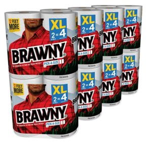 Brawny Pick-A-Size Paper Towels 32 Regular Rolls as low as $18.03! ($0.56/roll)