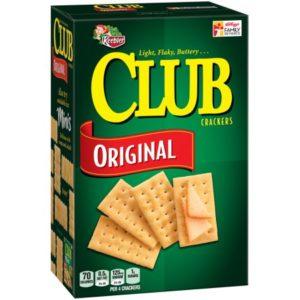 Meijer: Keebler Club Crackers Only $0.75!