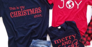 Holiday Tee Blowout – Was $24.99 – Ships for $12.48!
