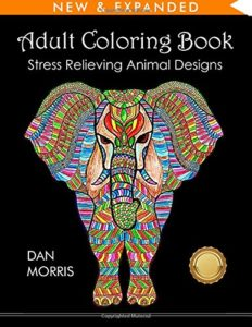 Adult Coloring Book: Stress Relieving Animal Designs Only $3.60!