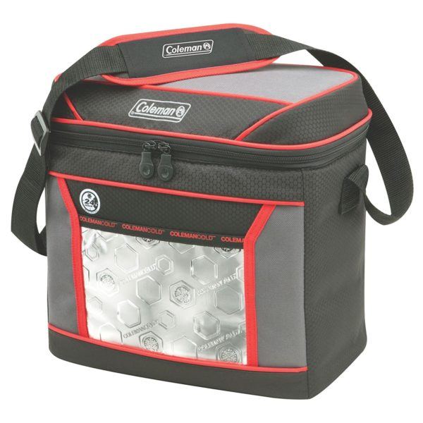 Coleman 16 Can Soft Cooler With Hard Liner ~ Coleman can soft cooler with hard liner only