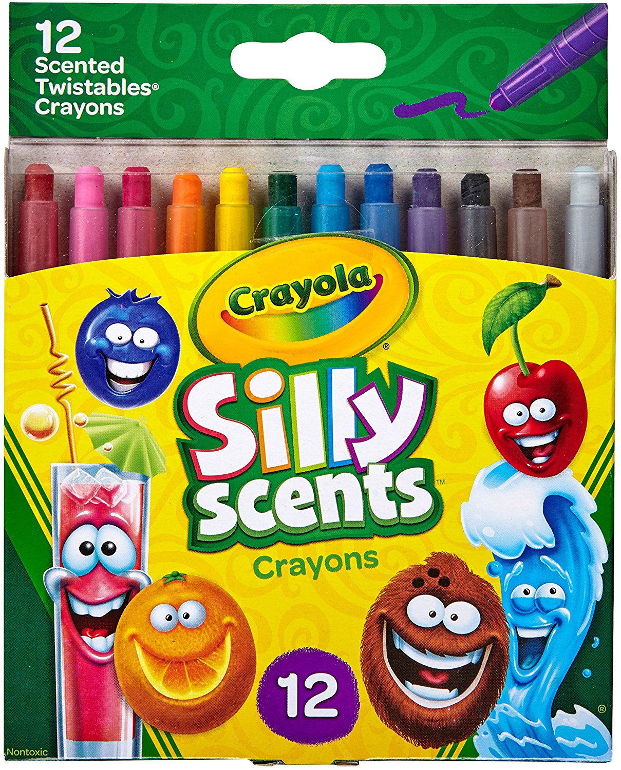 Crayola Silly Scents Twistables Crayons 12-Pack Only $3.04!