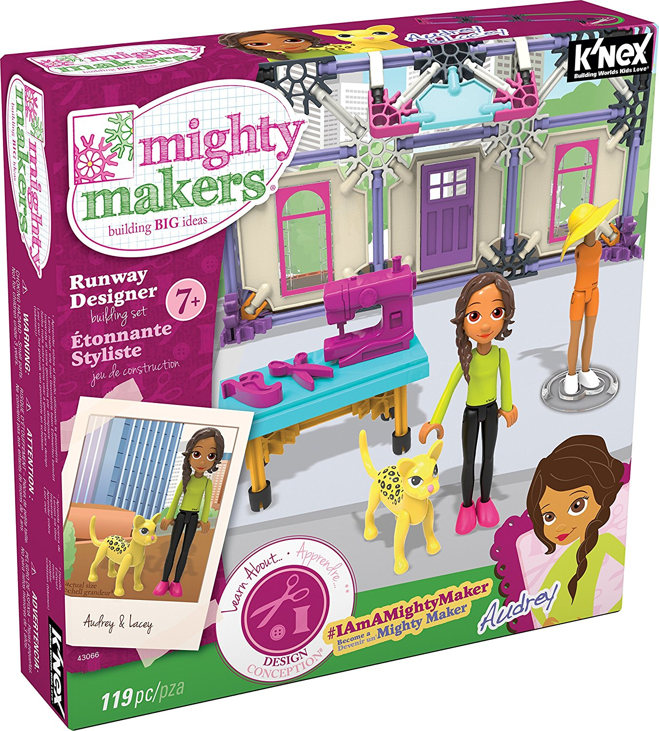 K'NEX Mighty Makers Runway Designer Building Set Only $5.99!