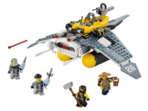 LEGO Ninjago Movie Manta Ray Bomber Building Kit Only $23.74! Best Price!