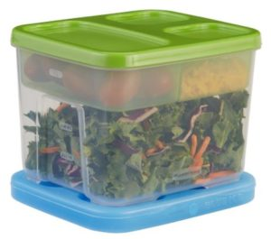 Rubbermaid Lunch Blox Container Salad Kit Only $8.19!