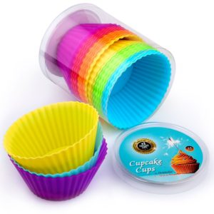 Set of 24 Silicone Cupcake Cups Only $5.95!