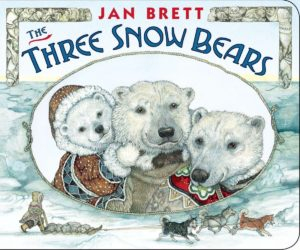 The Three Snow Bears Board Book Only $4.49!