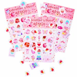Set of 24 Valentine's Day Bingo Game for Kids Only $6.99!