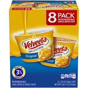 Velveeta Shells & Cheese Single Serve Cups 8-Pack as low as $5.36!
