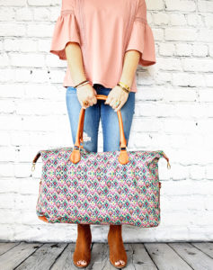 Ellie Weekender Bag – 6 Styles – Only $22.99!