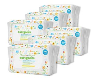 Babyganics Face, Hand & Baby Wipes, Fragrance Free, 600 Count as low as $10.17 Shipped!