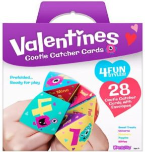 Pack of 28 Cootie Catcher Valentine's Cards Only $11.95!