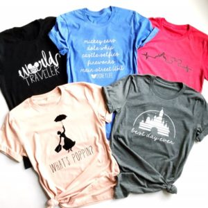Disney Character Inspired Tees Only $13.99!
