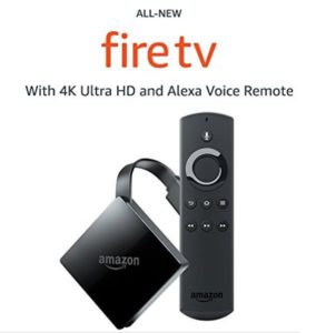 Fire TV with 4K Ultra HD and Alexa Voice Remote – $34.99 Shipped! Today Only!