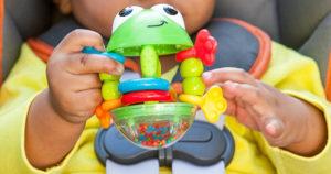 Infantino Flip Flop Frog Rattle Only $2.83! (reg. $9.99)