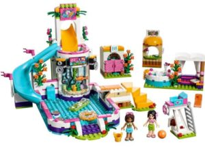 LEGO Friends Heartlake Summer Pool Building Kit Only $34.99! Lowest Price!