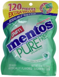 Mentos Pure Fresh Sugar-Free Chewing Gum 120 Piece Only $2.98!!