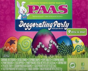 PAAS Deggorating Party Kit with 9 Kits Only $8.50!