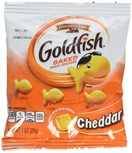 Pepperidge Farm Cheddar Goldfish Crackers, 45 – 1oz Bags Only $9.84!