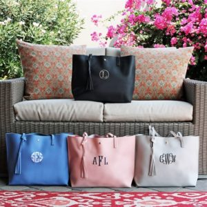 Personalized Tassel Totes ONLY $17.98 Shipped! (was $34.99)