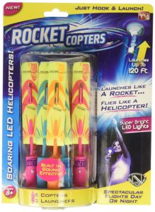 Rocket Copters – The Amazing Slingshot LED Helicopters Only $5!!