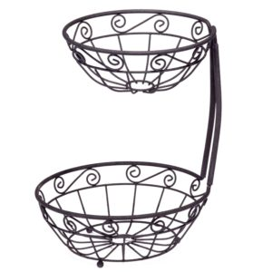 Two-Tier Fruit Basket Only $9.99! Lowest Price!