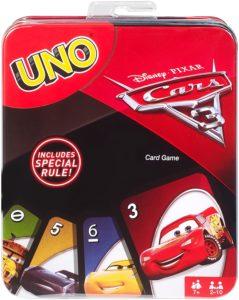 Uno Cars Card Game Only $4.09! Easter Basket Filler!