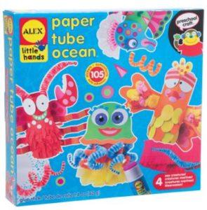 ALEX Toys Little Hands Paper Tube Ocean Craft Kit Only $6.10 (Reg. $12)!